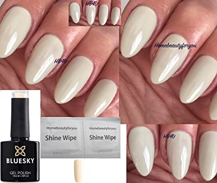 Bluesky 80533 cityscrape marfil crema color beige claro uñas Gel polaco UV LED Soak Off 10