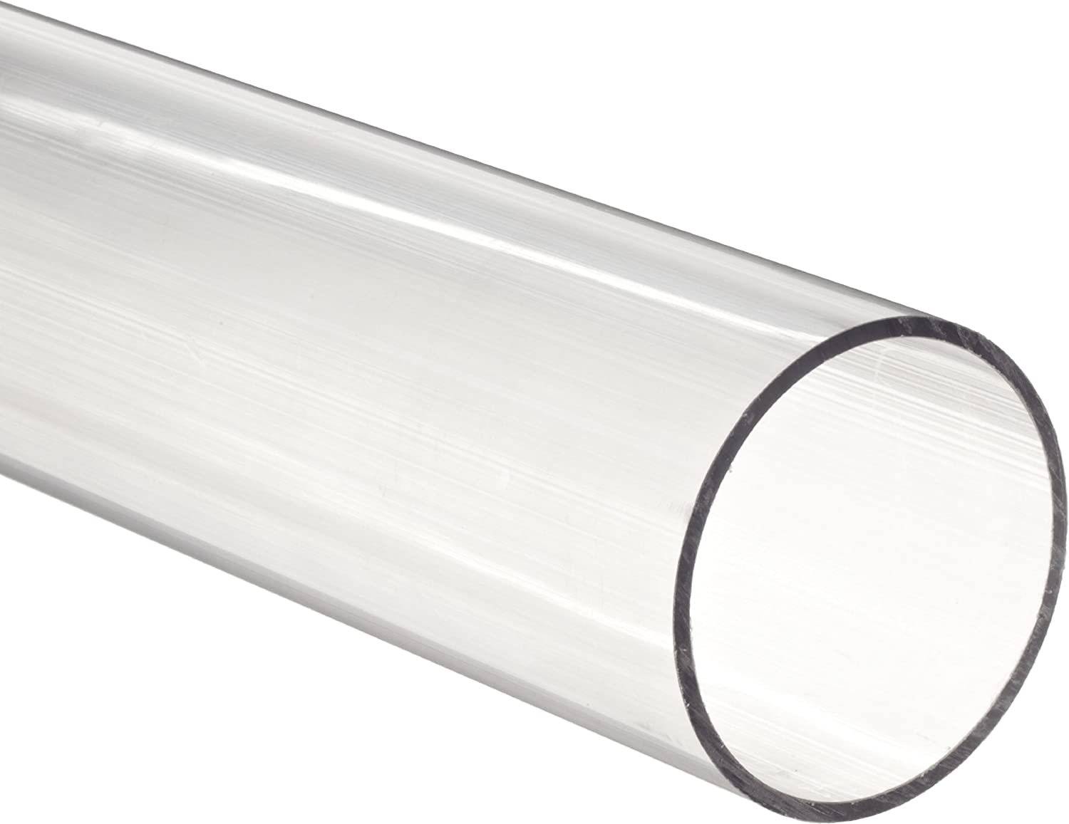 "Aluminum pipe 24/"" x  6/"" 5//16  I.D Wall thickness 1//8/"" 6/"" 9//16  outside dia"