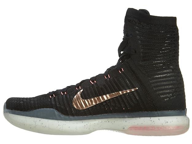 more photos dfb7d 2efe7 Amazon.com   Nike Mens Kobe X Elite, ROSE GOLD-BLACK METALLIC RED  BRONZE-WHITE-HT LV, 9.5 M US   Shoes