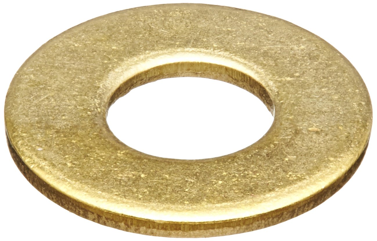 Pack of 50 0.34 ID Plain Finish Small Parts FSC516FWB 5//16 Screw Size 0.34 ID 3//4 OD 0.065 Thick 3//4 OD 5//16 Screw Size Brass Flat Washer Pack of 50 0.065 Thick