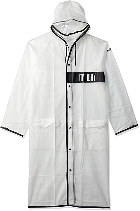WIKI, From House of WILDCRAFT Boy's Drizzle Regular fit Raincoat (8903338268291_White_14-16 Years)