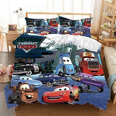 Buy Trduast Racing Car Duvet Cover Set For Kids Boys Girls Lightning Mcqueen Bedding Set Twin Size 2pcs Bed Set 1 Duvet Cover 1 Pillowcase Online In Guatemala B093snflbc