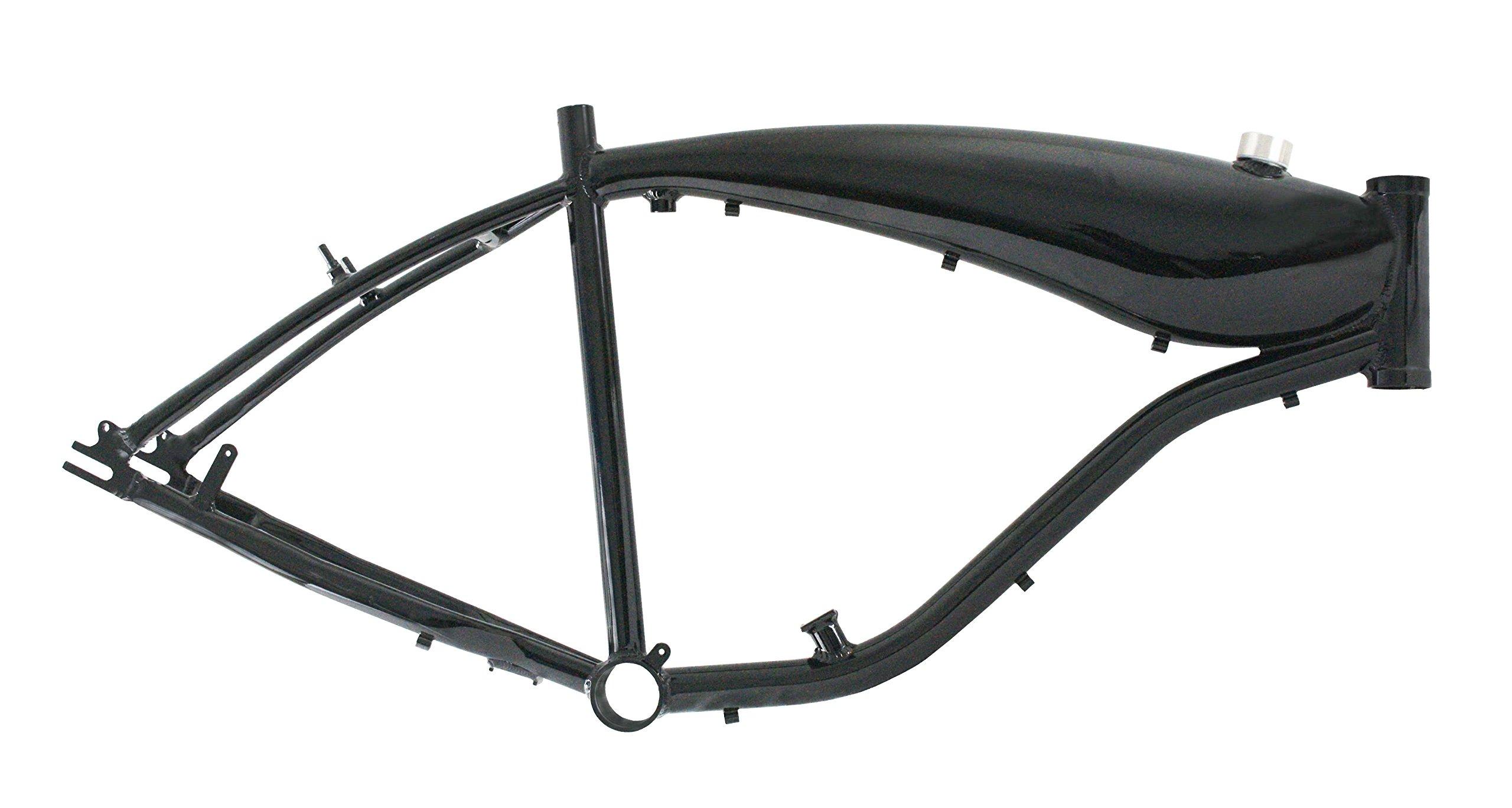 Bicycle Frame w/fuel tank 3.75l - Black
