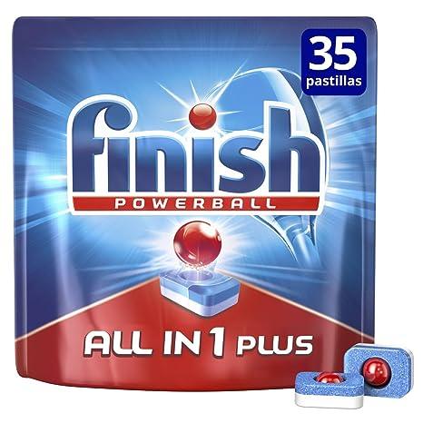 Finish Todo en 1 Max Regular Pastillas para Lavavajillas - 25 + 10 pastillas