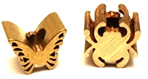 Just Listed Spyderco Brass Bug Lanyard Bead (Includes 1 Bead)