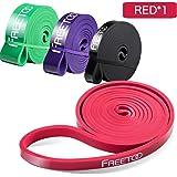 FREETOO Fitness Resistenza Band Fasce Elastiche, Perfette per Riabilitazione Dopo un Infortunio, Yoga, Pilates, Crossfit