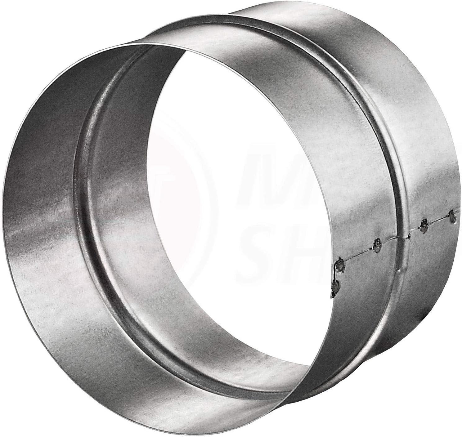 MKK/® Raccord de tuyau rond en PVC et aluminium flexible pour a/ération