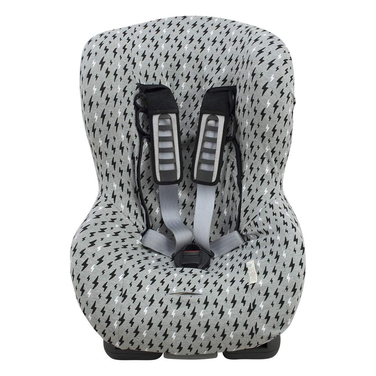 Universal Car Seat Cover Liner (Britax, Chicco, Mico and More) Black Rayo by JANABEBE