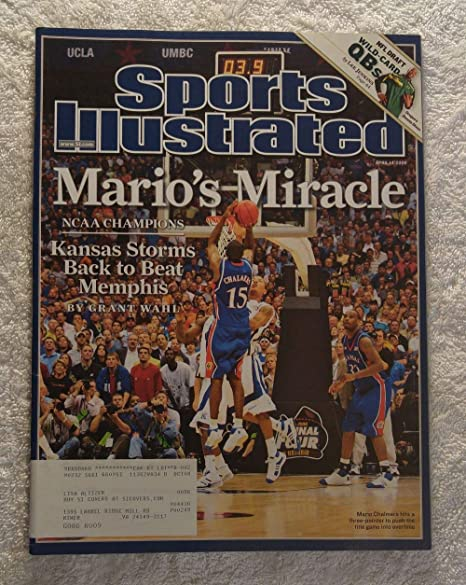 7d2d9098 Mario Chalmers - Kansas Jayhawks - 2008 National Champions! - Sports  Illustrated - April 14