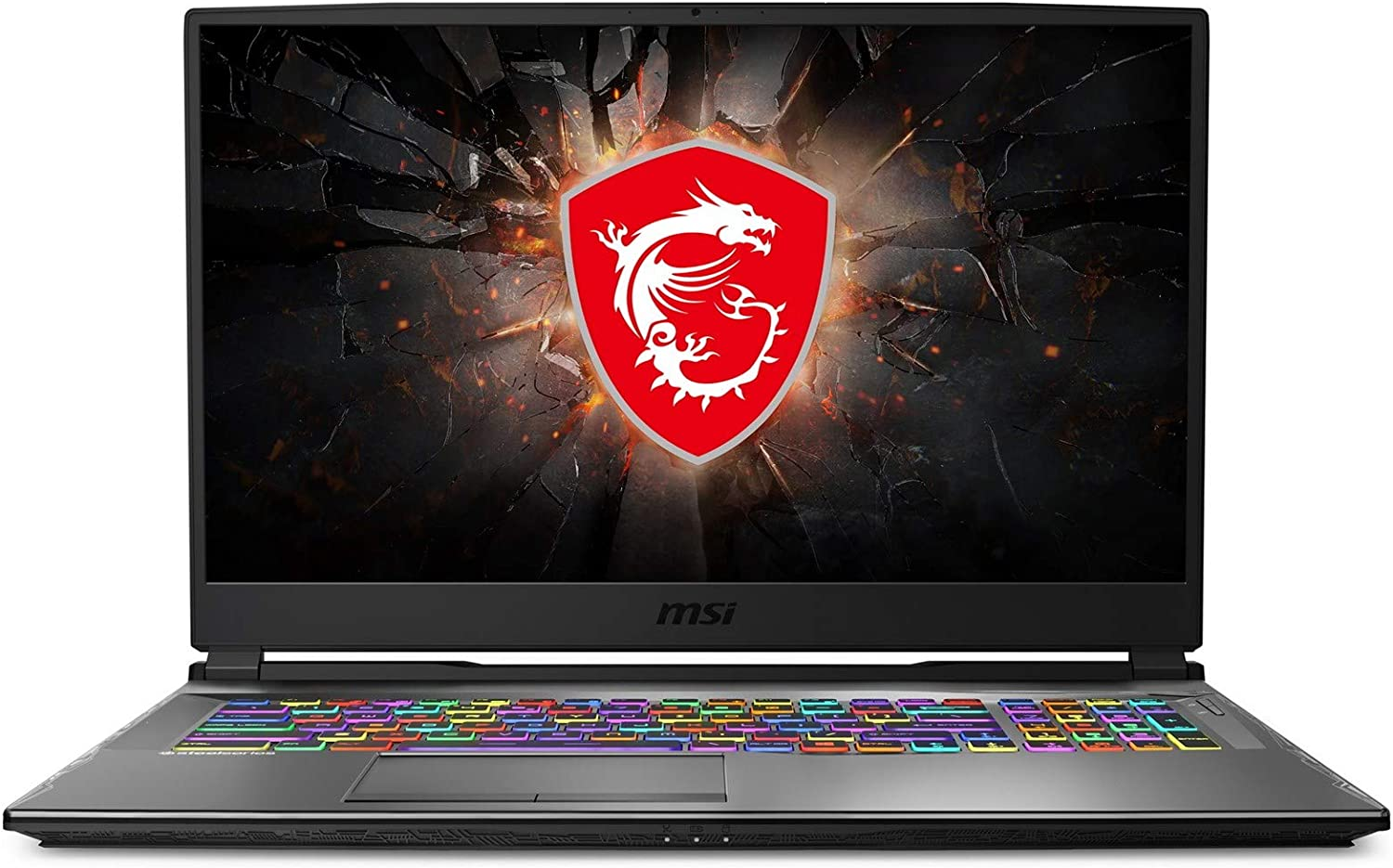 "CUK MSI GP75 Leopard Gaming Laptop (Intel Core i7-10750H, 64GB RAM, 2TB NVMe SSD + 2TB HDD, NVIDIA GeForce RTX 2070 8GB, 17.3"" Full HD 240Hz 3ms, Windows 10 Home) Gamer Notebook Computer"