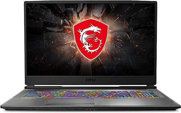 "CUK MSI GP75 Leopard Gaming Laptop (Intel Core i7-10750H, 64GB RAM, 2TB NVMe SSD + 2TB HDD, NVIDIA GeForce RTX 2070 8GB, 17.3"" Full HD 240Hz 3ms, Windows 10 Home) Gamer Notebook Computer"