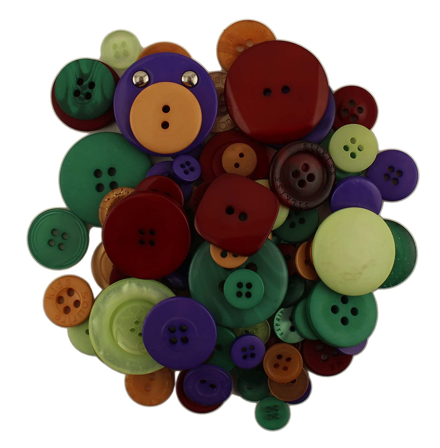 Buttons Galore GB128 Grab Bag Ice Storm Button