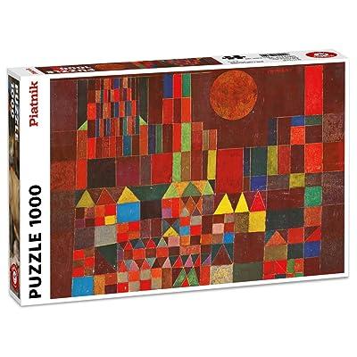 Piatnik 00 5464 Klee - Castle & Sun Puzzle: Toys & Games