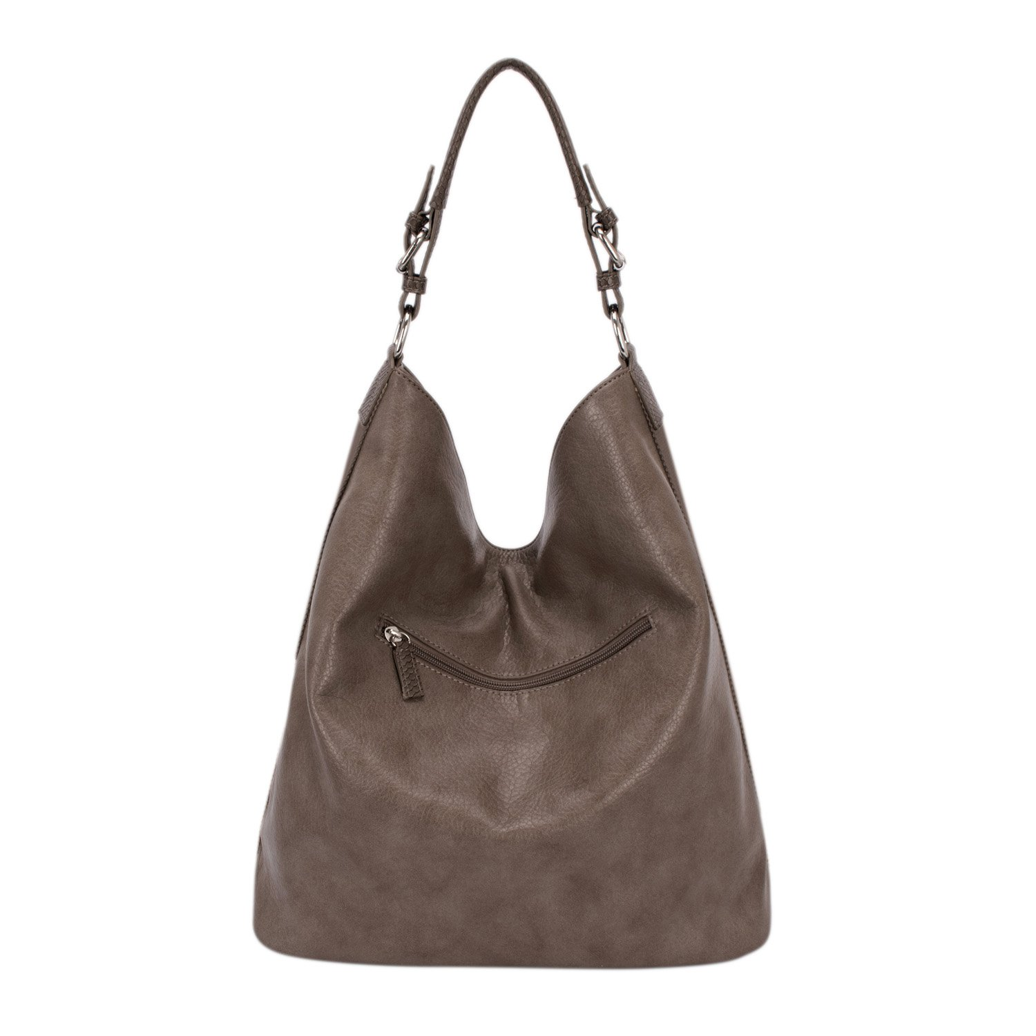 21299a6784 Amazon.com  DAVID - JONES INTERNATIONAL Vegan Leather Hobo Work Tote Top  Handle Camel Tan Large Bags for Women  Shoes