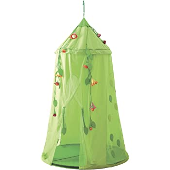 Amazon Com Haba Knight S Hanging Tent Playhouse Toys Amp Games