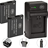 BM Premium 2 Pack of NB-11L, NB-11LH Batteries and Charger Kit for Canon PowerShot Elph 110, Elph 130, Elph 135 IS, Elph 140