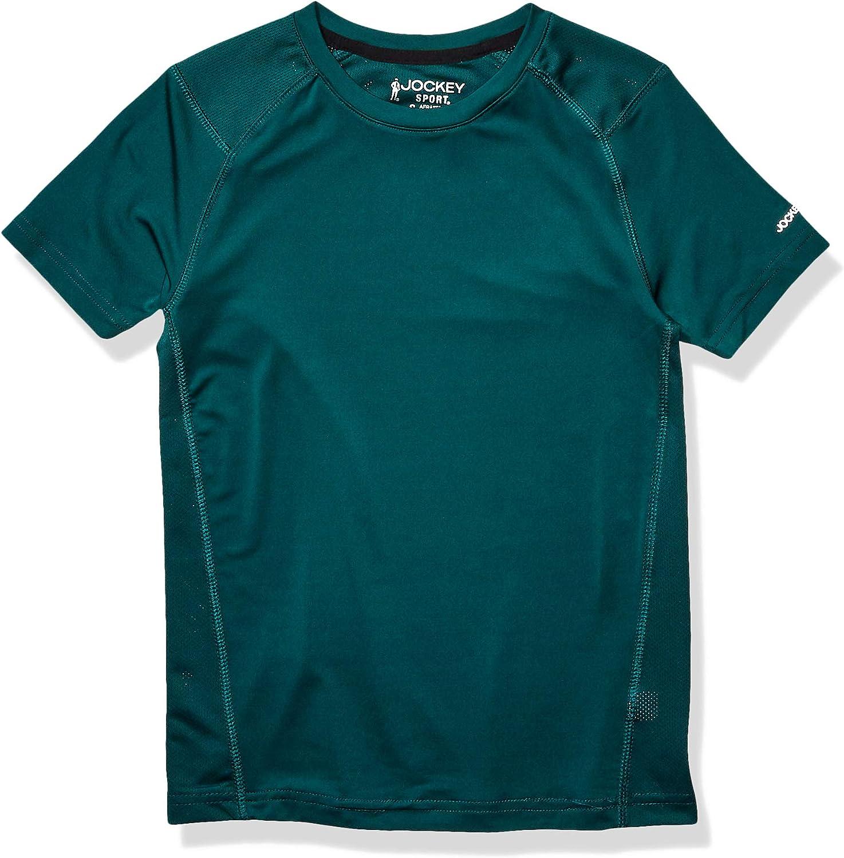 Jockey Boys' Active Mesh Back T-Shirt