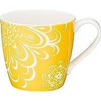 NARUMI(Day+) 马克杯 黄色 340cc 41281-2889 适用于微波炉、洗碗机