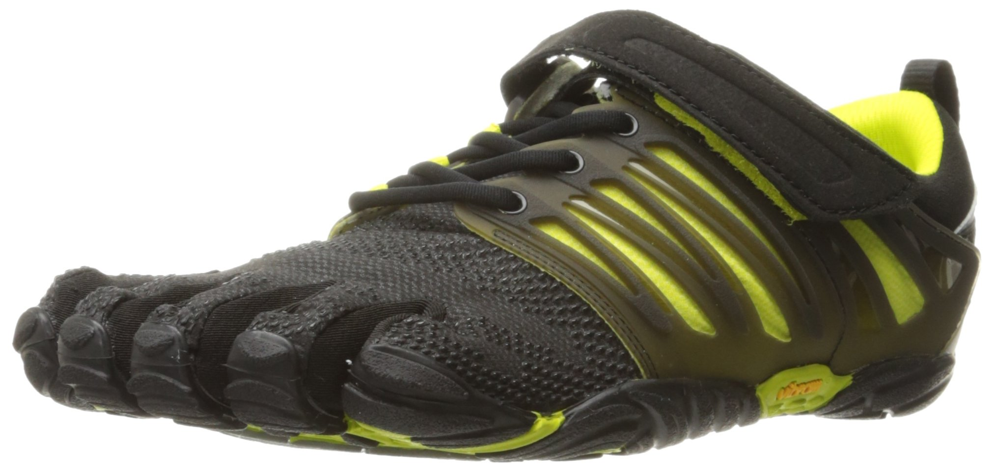 Vibram Men's V-Train Cross-Trainer Shoe, Black/Green, 49 EU by Vibram