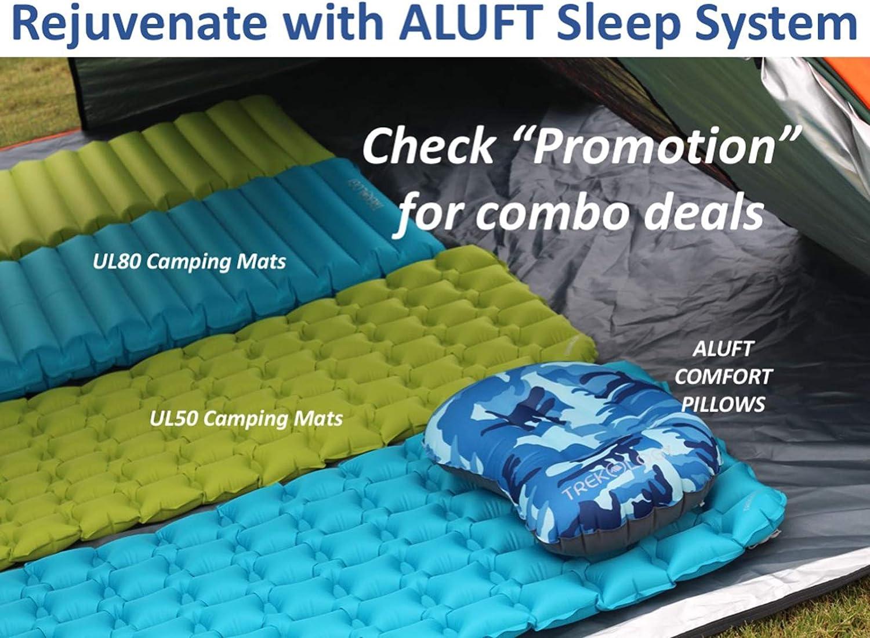 TREKOLOGY UL Inflatable Sleeping Pad ALUFT UL50 Camp Camping Mat for Sleeping