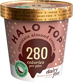 product image for Halo Top, Dairy-Free Chocolate Almond Crunch, Pint (8 count)