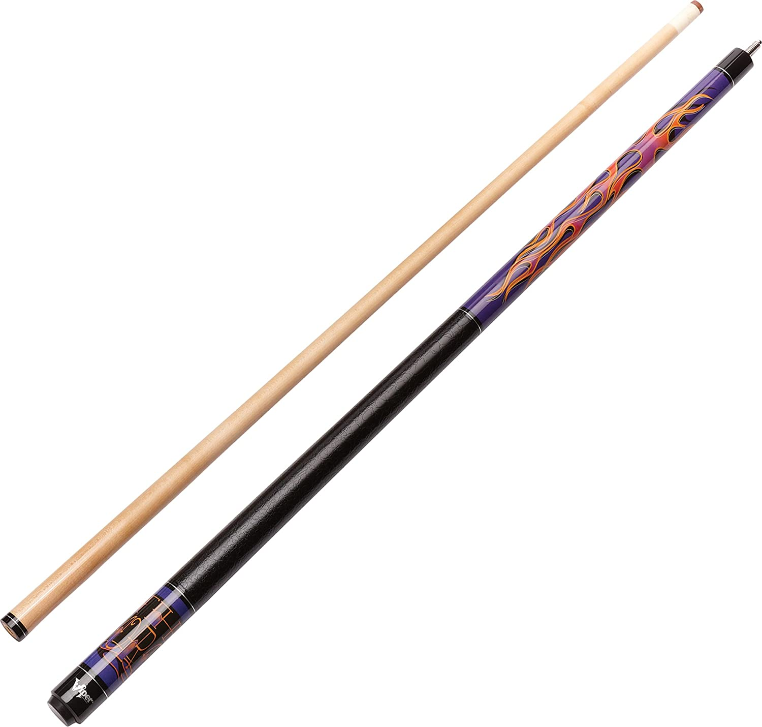Viper Underground 58 2-Piece Billiard/Pool Cue, The Torch Viper by GLD Products 50-0656-18-P
