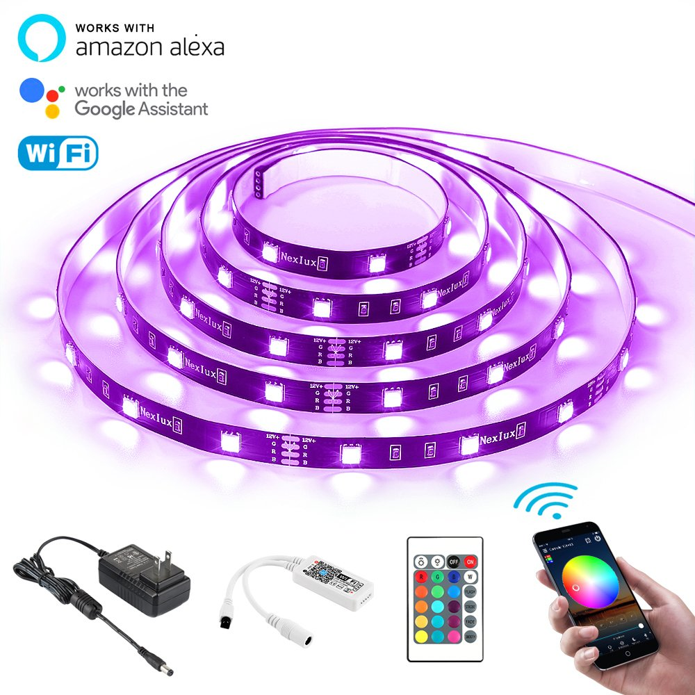 Led Strip Lights Nexlux Wifi Wireless Smart Phone