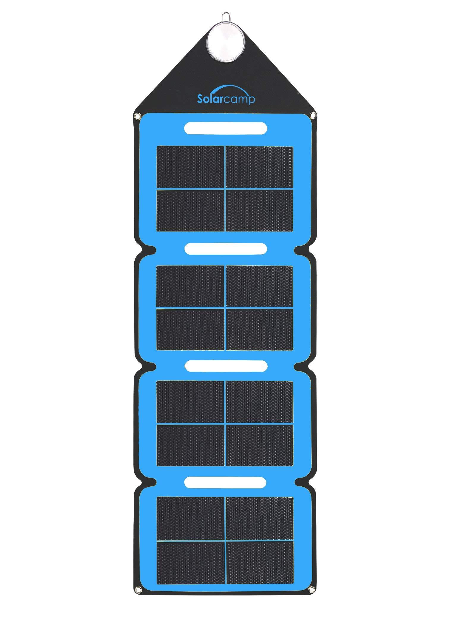 Cargador Solar Portatil de 7.6 Watts de Salida SOLAR CAMP Az