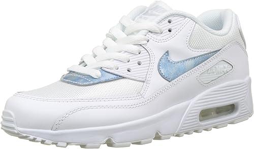 Nike Air Max 90 Mesh (GS), Chaussures de Gymnastique garçon