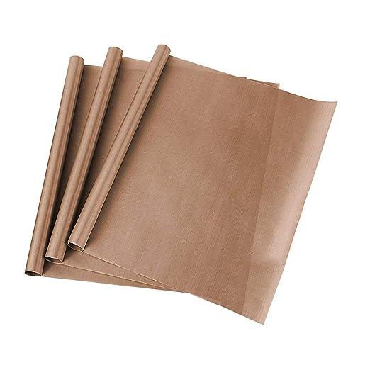 ss shovan Papel de Horno, Reutilizable Paquete de 3 Hojas de ...