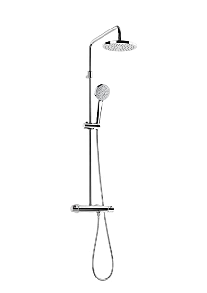 Roca A5A9718C00 Victoria - Columna termostática para ducha, Cromado ...