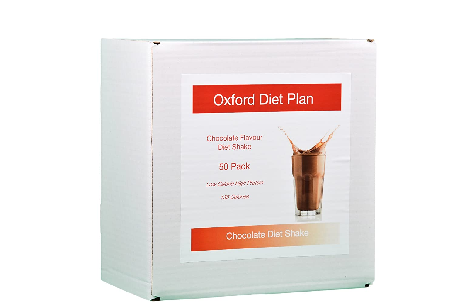 Chocolate Diet Shake - 50 Pack Low Calorie Diet Shakes High Protein Diet  Meal Replacement Shakes For Weight Loss