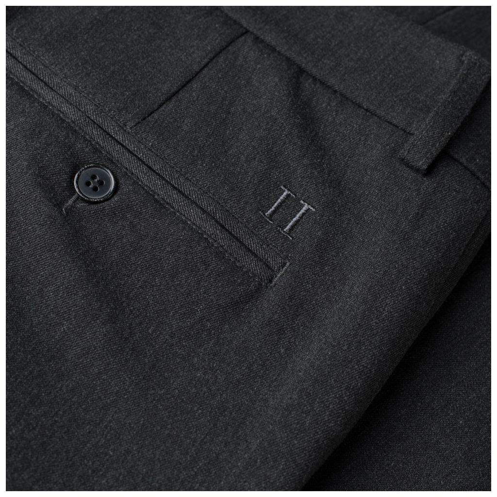 Les Deux Mens Stretch Slim Fit Como Suit Pants Anthracite