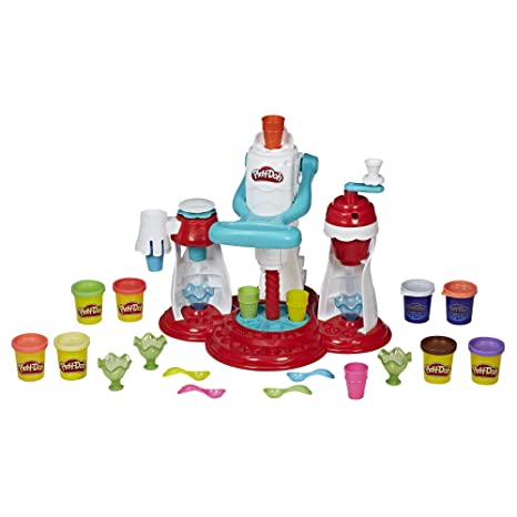 Amazon Com Play Doh Kitchen Creations Ultimate Swirl Ice Cream
