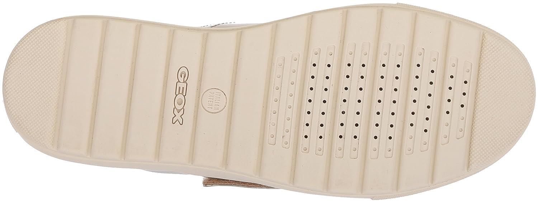 Geox D Breeda Scarpe E, Scarpe Breeda da Ginnastica Basse Donna Bianco 9e96a0