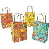 Fiesta Muchas Gracias Gift Bags (set of 12) Cinko De Mayo Party Supplies
