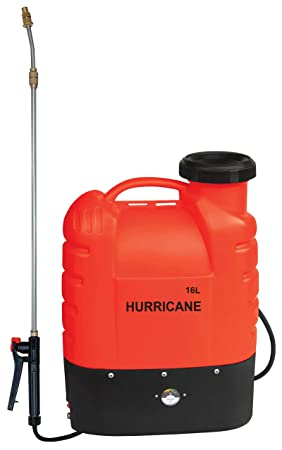 Piushopping – Bomba pulverizadora de hombro, mochila eléctrica con batería 12 V para desbrozar: Amazon.es: Jardín