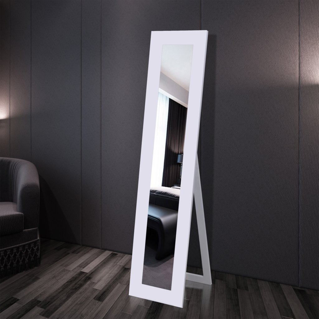 Anself Free Standing Mirror Full Length Black