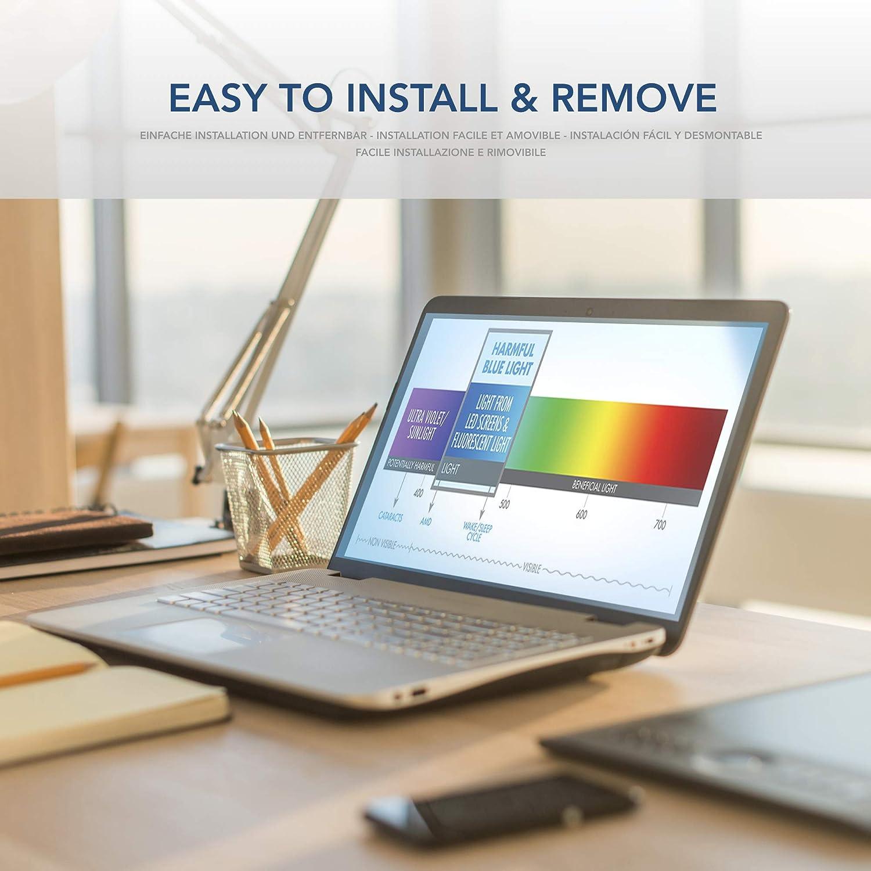 Rimovibile 17.3 Pollici Filtro Anti Luce Blu Premium per Schermo Laptop PC VistaProtect