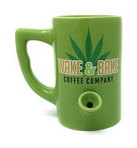 Island Dogs Wake and Bake All in One Ceramic Mug Coffee Cup Pipe Novelty Gifts  sc 1 st  Amazon.com & Amazon.com | Island Dogs Wake and Bake All in One Ceramic Mug Coffee ...