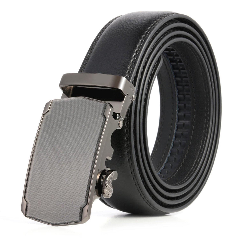 Eric Hug?Fashion?Black Mens belts NEW Designer Belts Men Mens belts Luxury New Styles 3 Colors Waist Belt for Men for Jeans NO 2 45in 115cm
