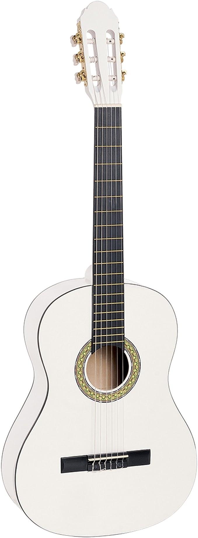 Guitarra clásica española TOLEDO PRIMERA 3/4 WH en color blanco ...