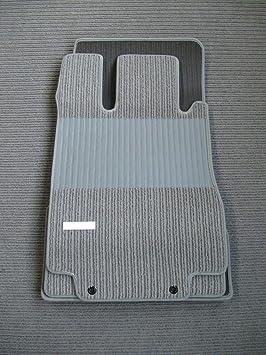 Joker Fußmatte Für S Klasse W220 Mopf Ab 10 02 Rips Fußmatte Grau Original Qualität Mit Bandeinfassung Auto