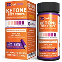 Just Fitter Ketone Test Strips. Look & Feel Fabulous on a Low Carb Ketogenic or HCG Diet. Get Your Body Back! Accurately…