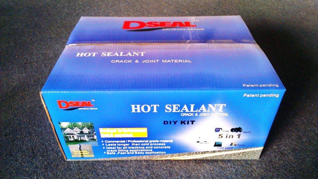 Dseal driveway sealer hot sealant diy pavement kit amazon solutioingenieria Image collections