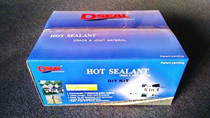 Dseal driveway sealer hot sealant diy pavement kit amazon dseal driveway sealer hot sealant diy pavement kit solutioingenieria Image collections