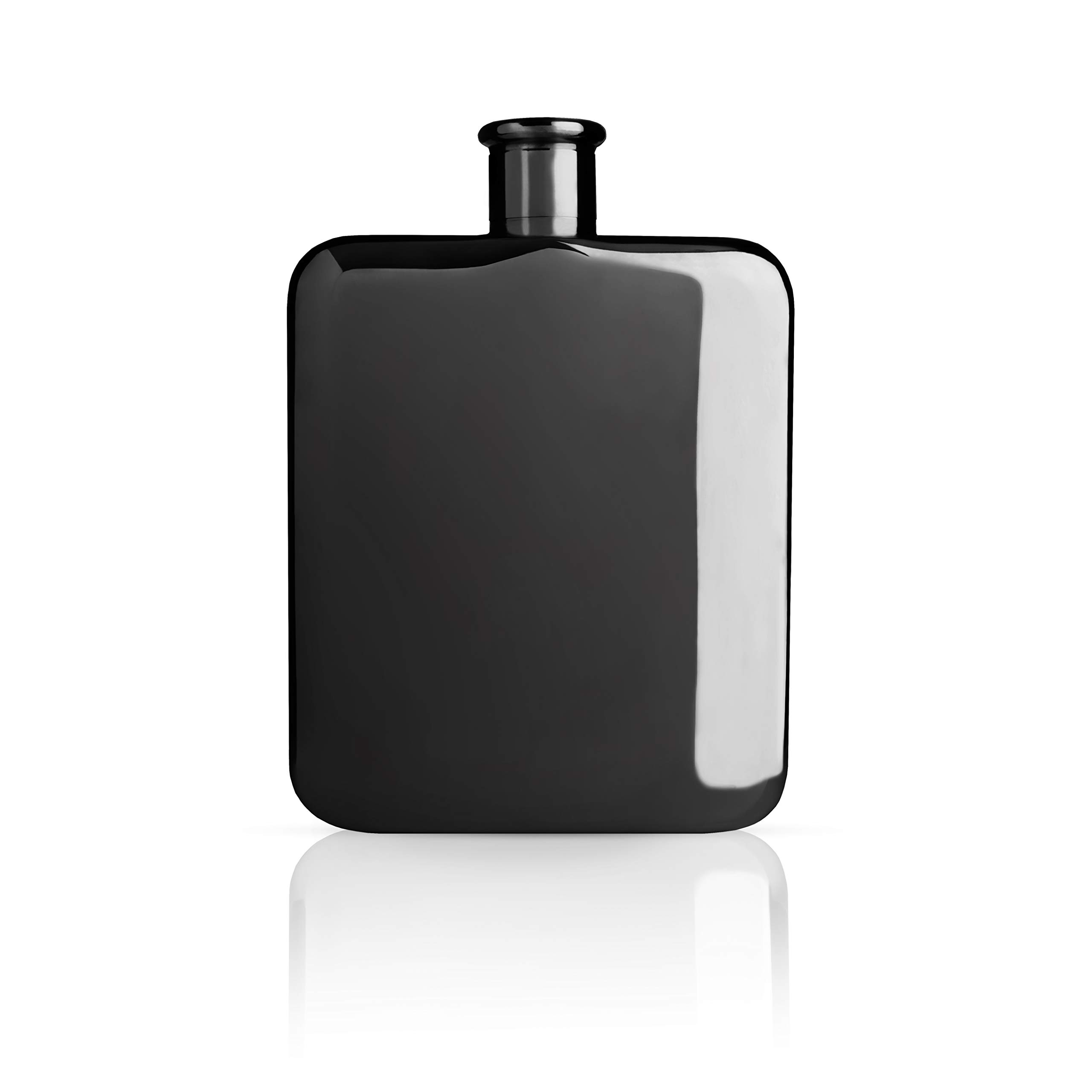 Viski 5369 Warren Gunmetal Flask