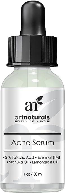 ArtNaturals anti Acne Serum Treatment Dermatologist Tested Product