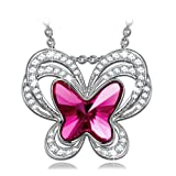 "Amazon Price History for:KATE LYNN ""Butterfly Fairy"" Made with Purple Violet SWAROVSKI Crystal Pendant Necklace-The Garden of Eden"