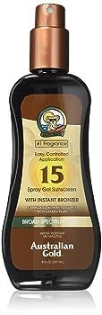 Australian Gold Spray Gel Sunscreen